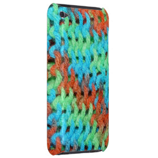 Knitted Cover in Brightly Colored Yarn iPod Touch Case