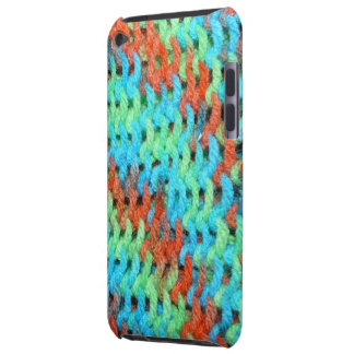 Knitted Cover in Brightly Colored Yarn Case-Mate iPod Touch Case