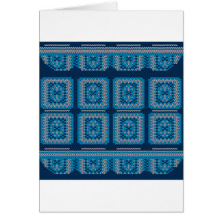 Knitted Decorative Background2 Card