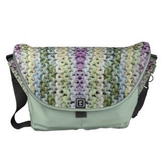 Knitted Design Rickshaw Messenger Bag