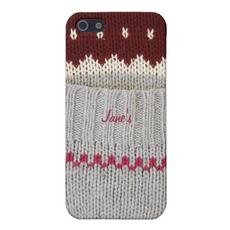Knitted Dress iPhone case