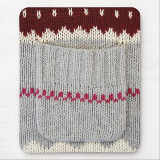 Knitted Fashion Mouse Pad