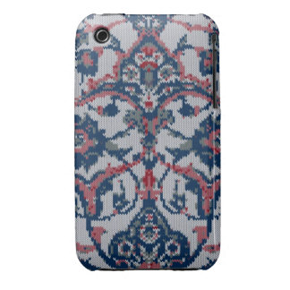 Knitted Floral Print Iphone 3g/3gs iPhone 3 Case-Mate Case