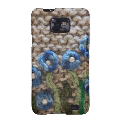 knitted garden samsung galaxy s2 case