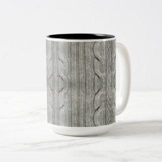 """Knitted"" Mug"