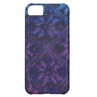 Knitted Nordic snowflake pattern iPhone 5c case
