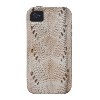 Knitted pattern iPhone 4 case
