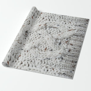 Knitting Wrapping Paper   Zazzle