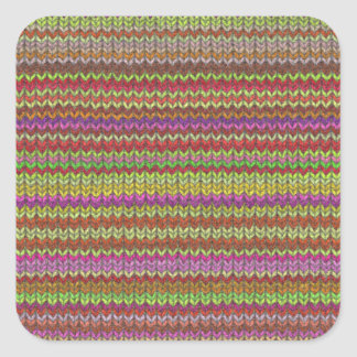 Knitted Print Stickers