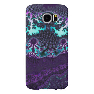 Knitted Purple Plus Fractal Samsung Galaxy S5 Case