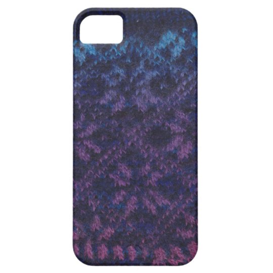 Knitted snowflake iPhone case