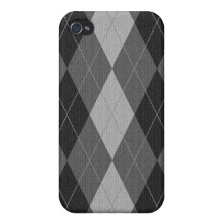 Knitted Style Argyle Iphone Case iPhone 4 Case
