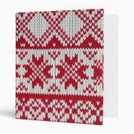 Knitted Xmas Binders (<em>$25.95</em>)
