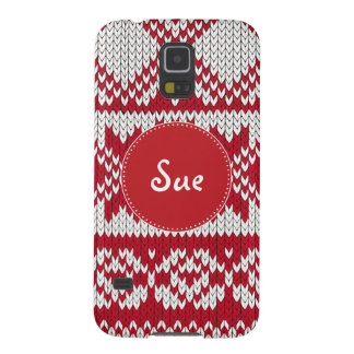 Knitted Xmas Case For Galaxy S5