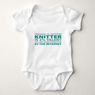 Knitter 3% Talent Tee Shirts