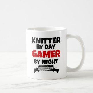 Knitter by Day Gamer by Night Coffee Mug