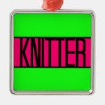 Knitter Christmas Ornament