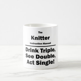 knitter coffee mug