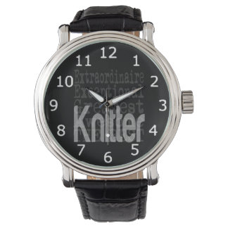 Knitter Extraordinaire Watches