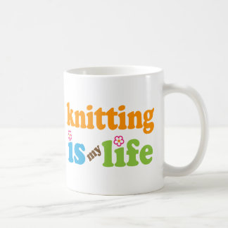 Knitter Gift Girls Coffee Mug