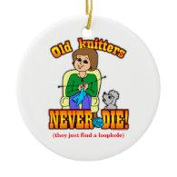 Knitter Ornaments