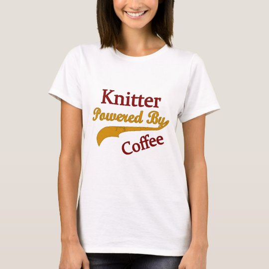 Knitter Powered By Coffee T-Shirt