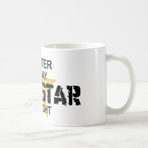 Knitter Rock Star by Night Coffee Mug
