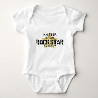 Knitter Rock Star by Night Shirt