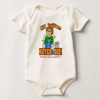 Knitter Baby Bodysuits