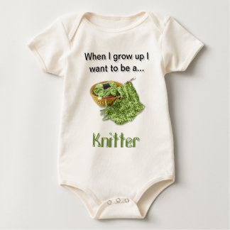 Knitter - When I Grow Up I want to be Bodysuits