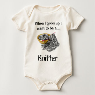 Knitter - When I Grow Up I want to be Romper