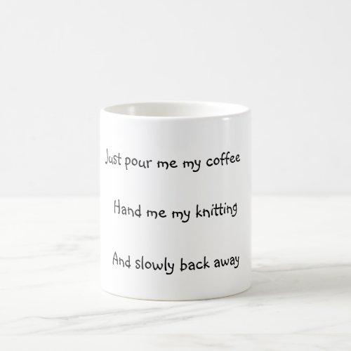 Knitters Coffee Mug