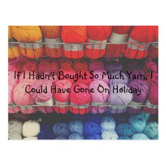 Knitters Postcard