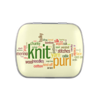 Knitters Stitch Marker Holder Jelly Belly Tins