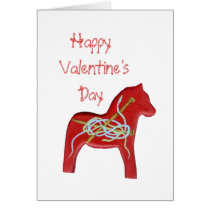 Knitters Valentine's Day Card