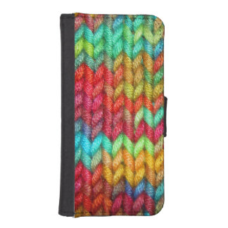 Knitters Yarn iPhone SE/5/5s Wallet