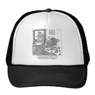 Knitting, a Green Cottage Industry Trucker Hat