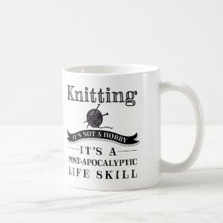 Knitting: A Post-Apocalyptic Life Skill Mug