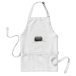 Knitting Adult Apron