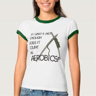 Knitting Aerobics Tee Shirts