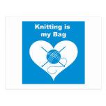 Knitting Bag Post Cards