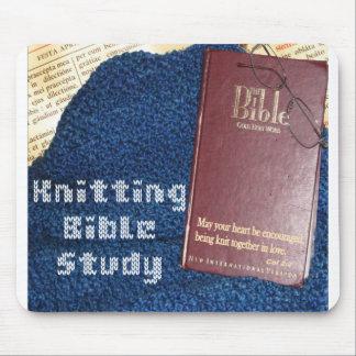 Knitting Bible Study mousepad