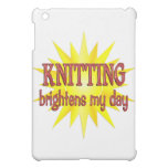 Knitting Brightens My Day iPad Mini Case