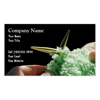 Knitting Business Cards