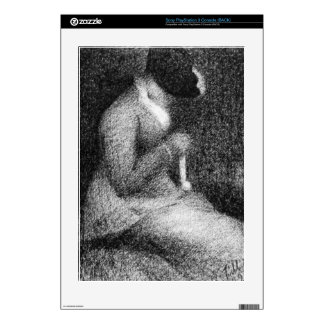 Knitting by Georges Seurat Skins For PS3