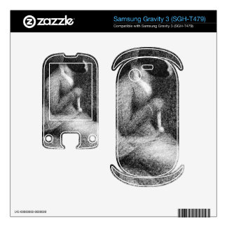 Knitting by Georges Seurat Samsung Gravity 3 Skin