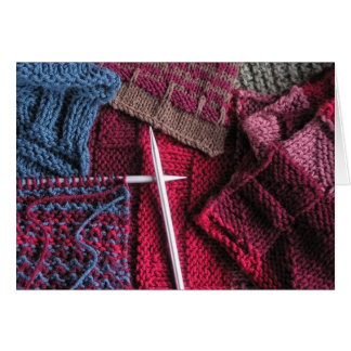 Knitting Greeting Cards