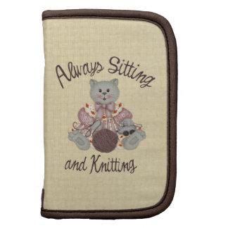 Knitting Cat Organizer