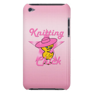 Knitting Chick #8 Barely There iPod Case