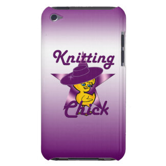 Knitting Chick #9 Barely There iPod Case